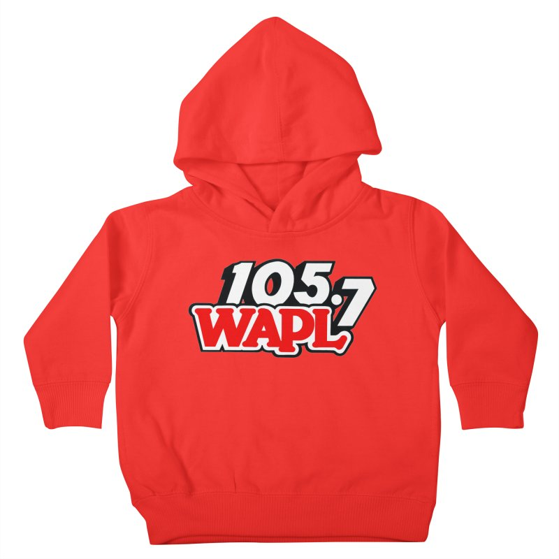 WAPL 90s Logo Kids Toddler Pullover Hoody by 105.7 WAPL Store
