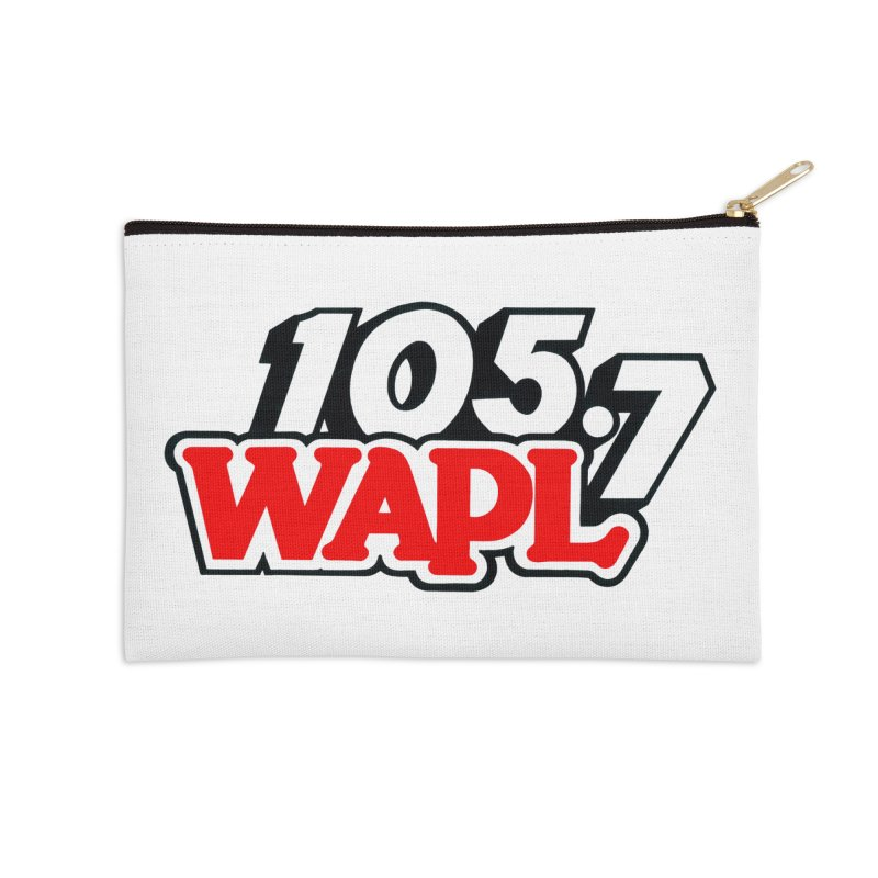 WAPL 90s Logo Accessories Zip Pouch by 105.7 WAPL Store