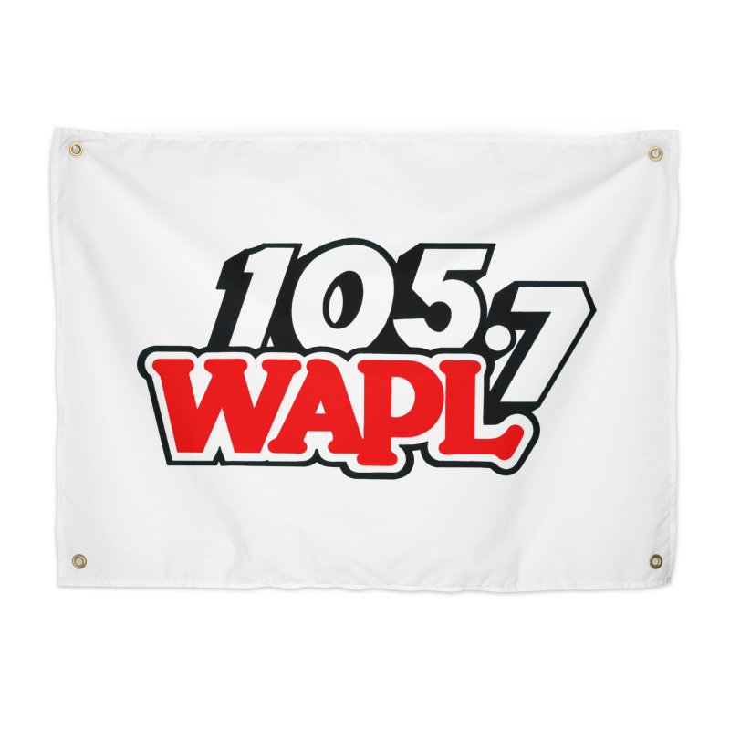 WAPL 90s Logo Home Tapestry by 105.7 WAPL Store