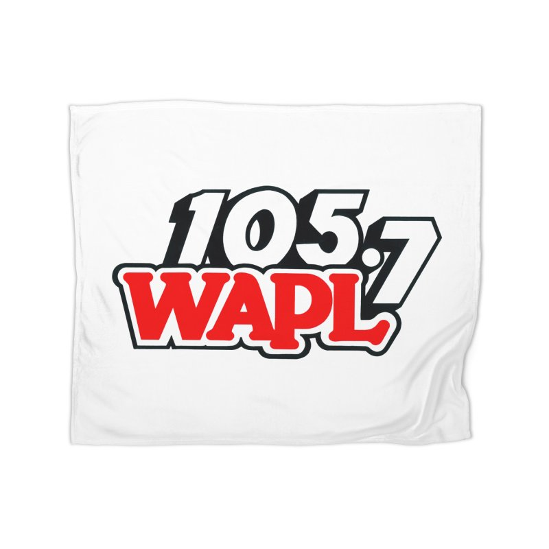 WAPL 90s Logo Home Blanket by 105.7 WAPL Store