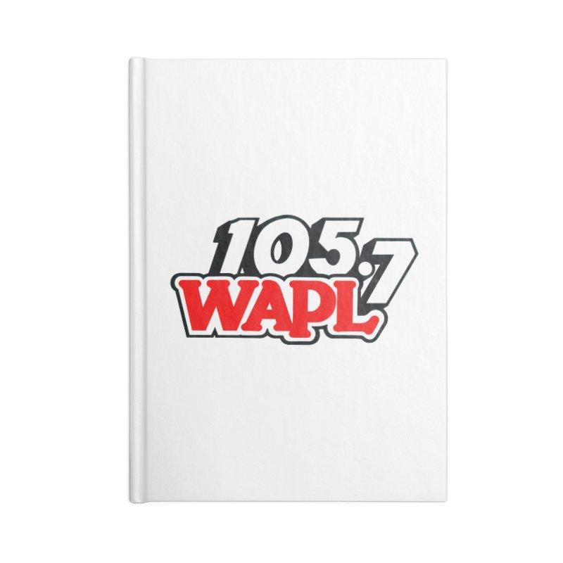 WAPL 90s Logo Accessories Notebook by 105.7 WAPL Store