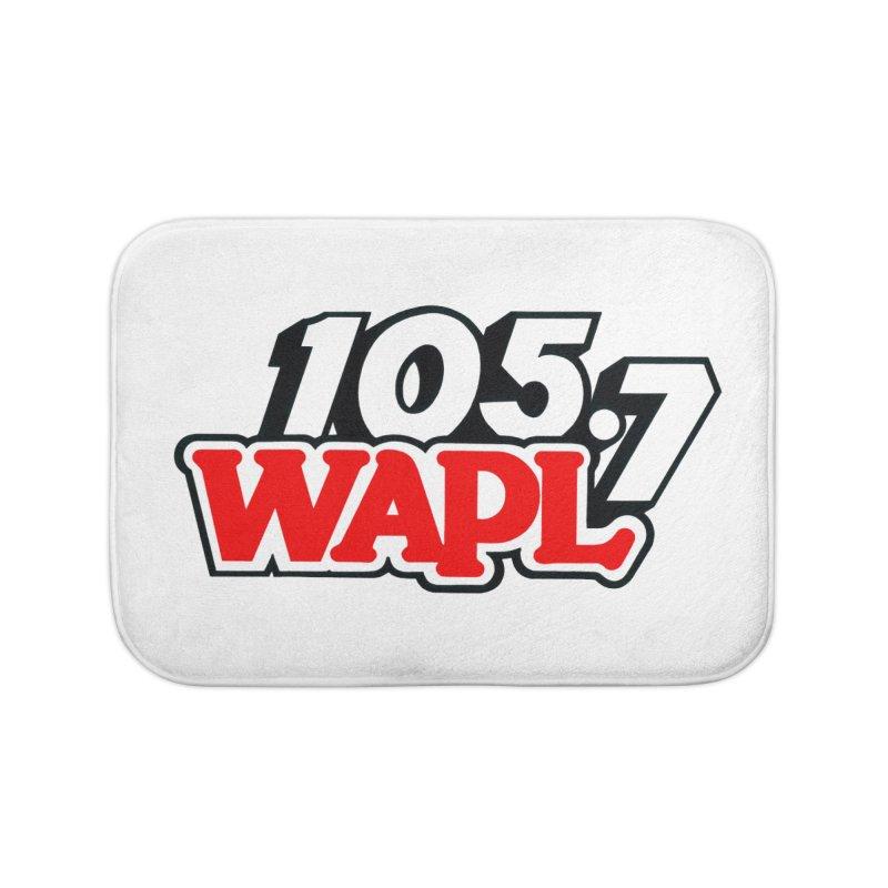 WAPL 90s Logo Home Bath Mat by 105.7 WAPL Store