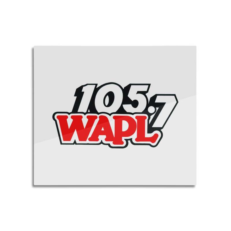 WAPL 90s Logo Home Mounted Acrylic Print by 105.7 WAPL Store