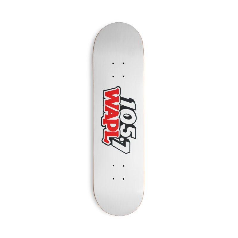 WAPL 90s Logo Accessories Skateboard by 105.7 WAPL Store