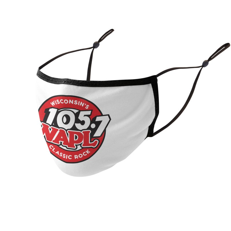 """WAPL """"Wisconsin's Classic Rock"""" [2021] Accessories Face Mask by 105.7 WAPL Store"""