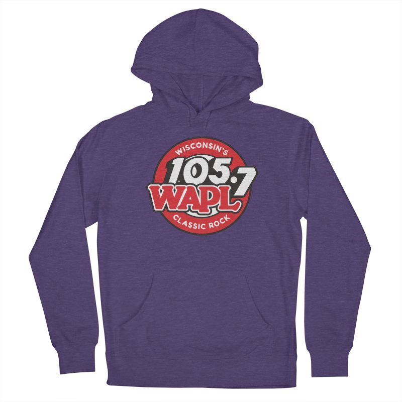 "WAPL ""Wisconsin's Classic Rock"" [2021] Women's Pullover Hoody by 105.7 WAPL Store"