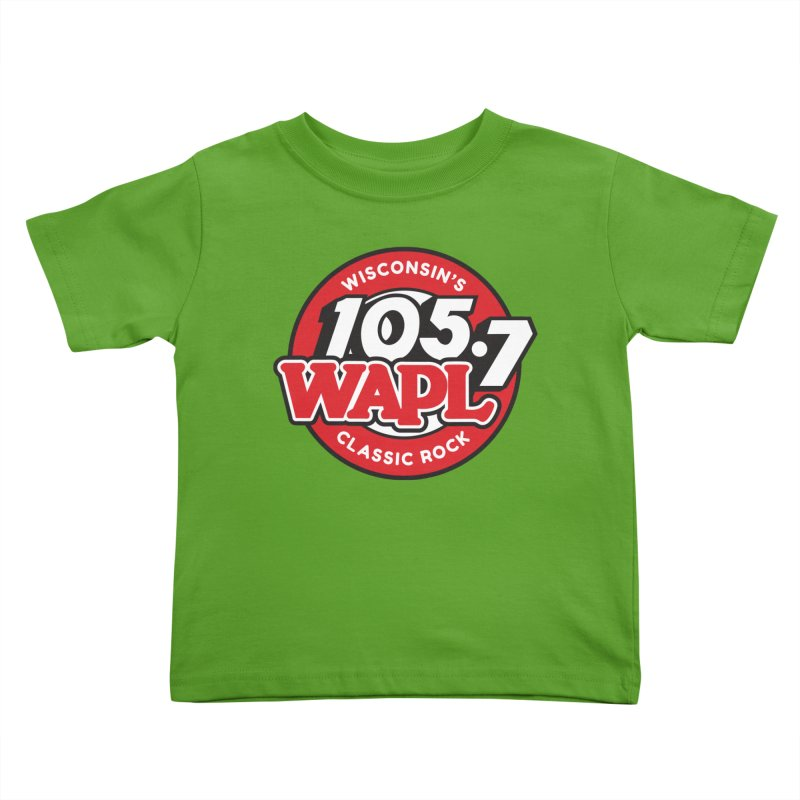 "WAPL ""Wisconsin's Classic Rock"" [2021] Kids Toddler T-Shirt by 105.7 WAPL Store"