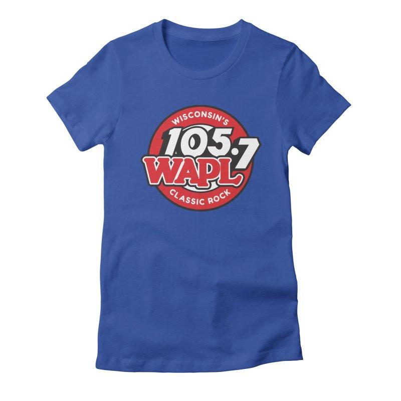 "WAPL ""Wisconsin's Classic Rock"" [2021] Women's T-Shirt by 105.7 WAPL Store"
