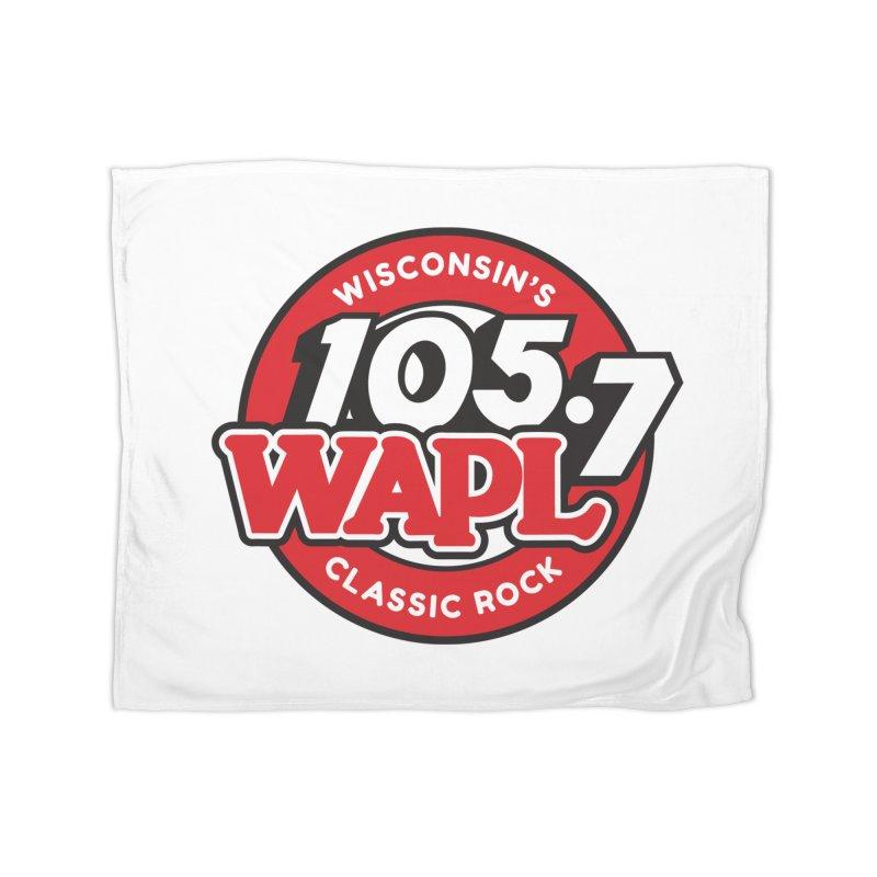 "WAPL ""Wisconsin's Classic Rock"" [2021] Home Blanket by 105.7 WAPL Store"