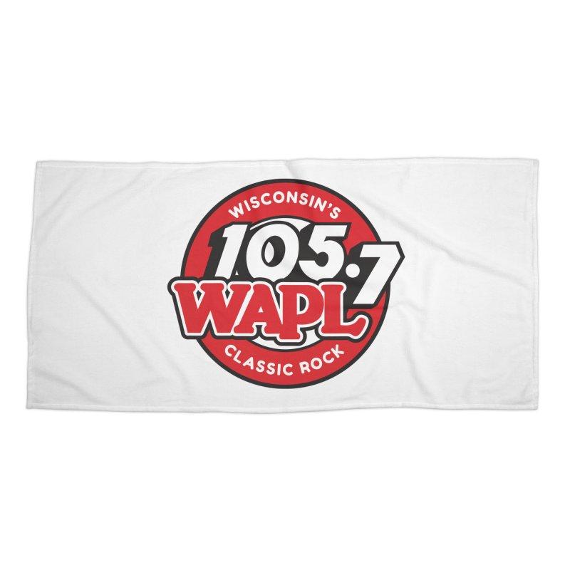 "WAPL ""Wisconsin's Classic Rock"" [2021] Accessories Beach Towel by 105.7 WAPL Store"