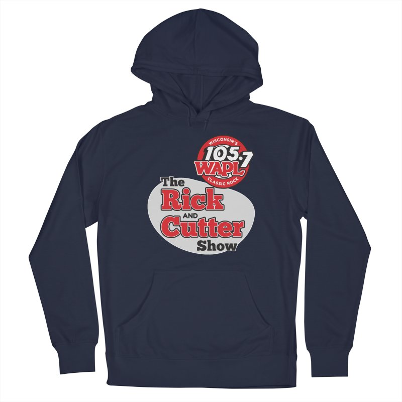 The Rick & Cutter Show Men's Pullover Hoody by 105.7 WAPL Store