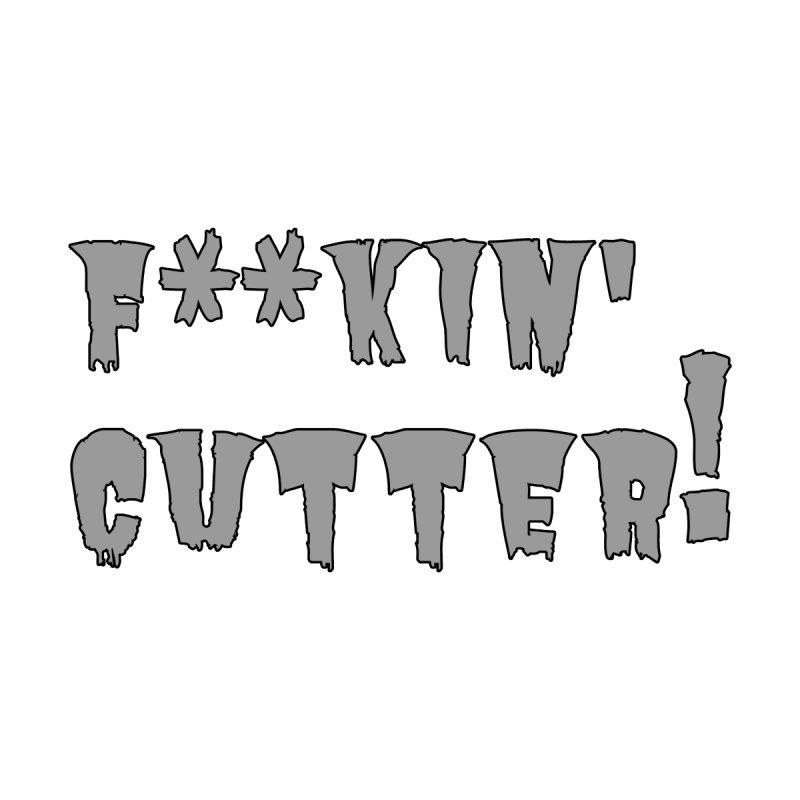 F**kin' Cutter [Back Design] Women's Zip-Up Hoody by 105.7 WAPL Store