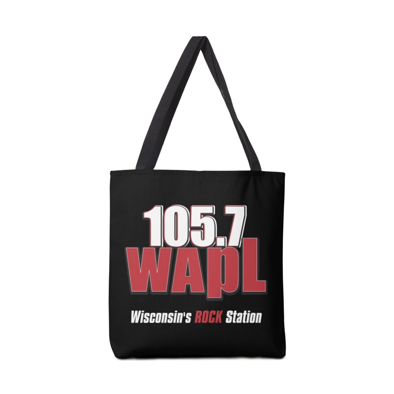 WAPL Stacked Logo (white lettering) Accessories Bag by 105.7 WAPL Web Store