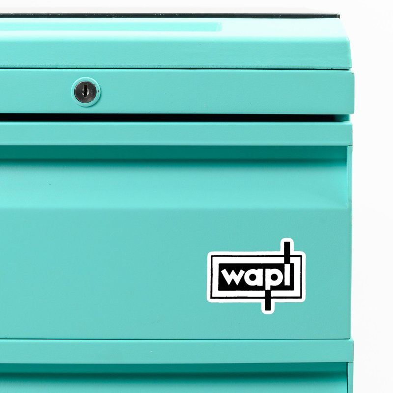 WAPL-AM circa the 50s Accessories Magnet by 105.7 WAPL Store