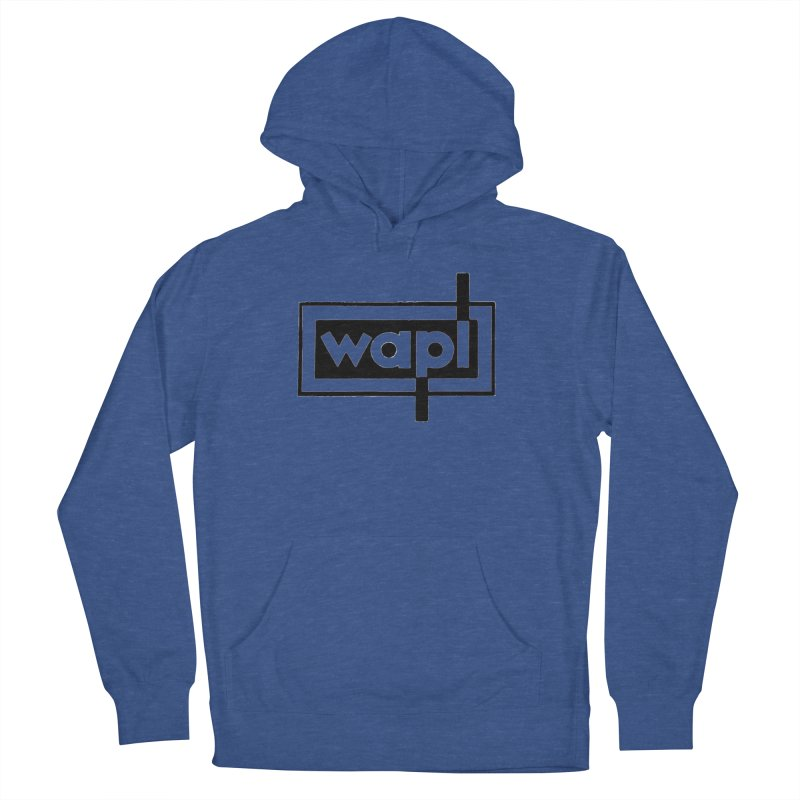 WAPL-AM circa the 50s Women's French Terry Pullover Hoody by 105.7 WAPL Web Store