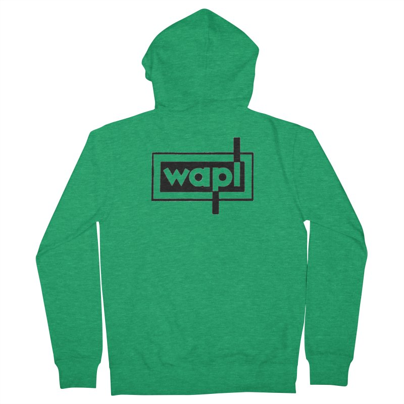 WAPL-AM circa the 50s Men's Zip-Up Hoody by 105.7 WAPL Store