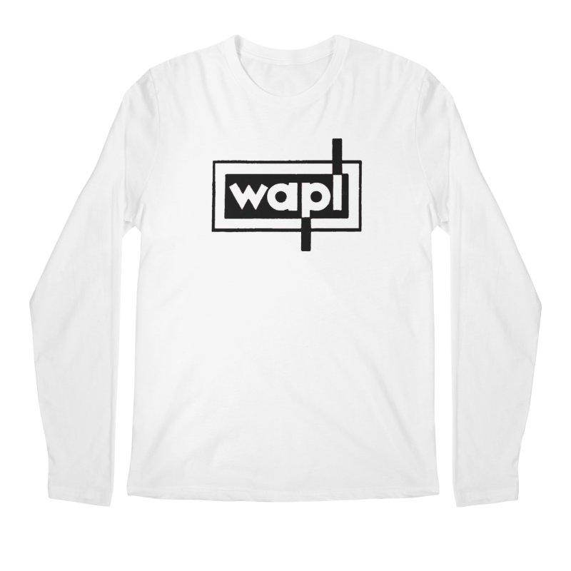 WAPL-AM circa the 50s Men's Regular Longsleeve T-Shirt by 105.7 WAPL Web Store