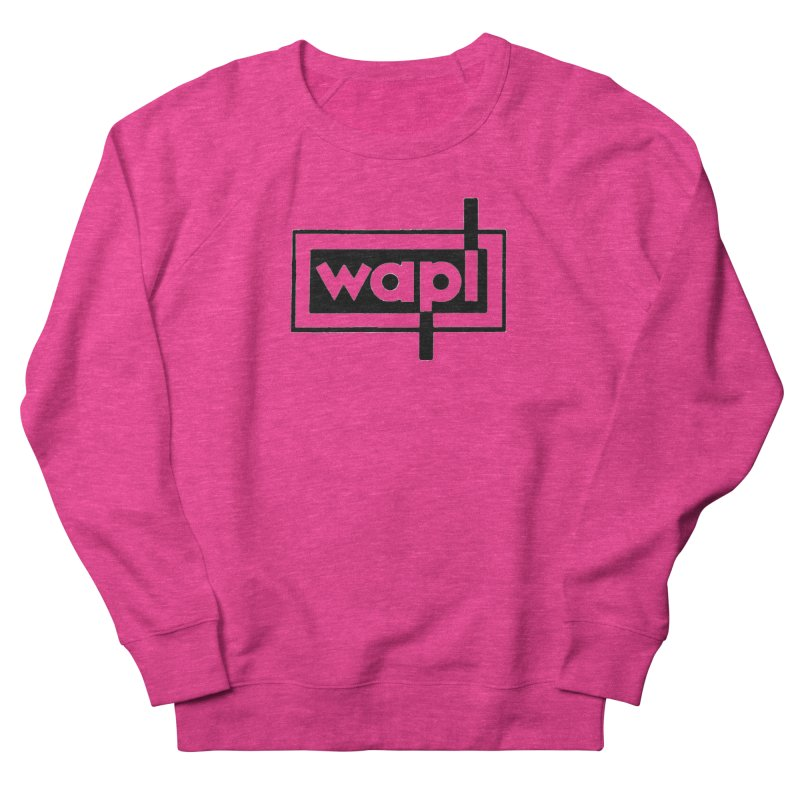 WAPL-AM circa the 50s Men's French Terry Sweatshirt by 105.7 WAPL Web Store
