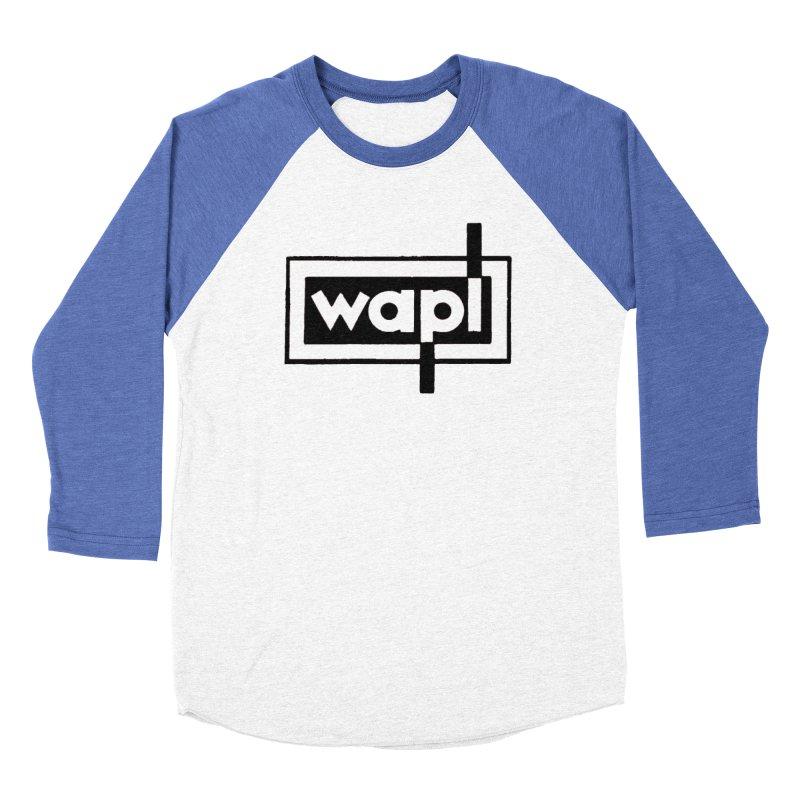 WAPL-AM circa the 50s Men's Baseball Triblend Longsleeve T-Shirt by 105.7 WAPL Web Store