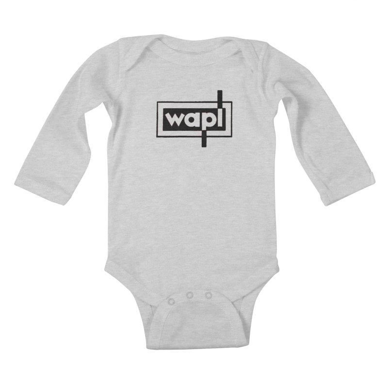 WAPL-AM circa the 50s Kids Baby Longsleeve Bodysuit by 105.7 WAPL Web Store