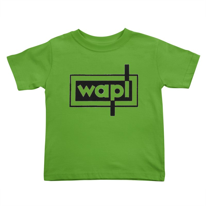 WAPL-AM circa the 50s Kids Toddler T-Shirt by 105.7 WAPL Store