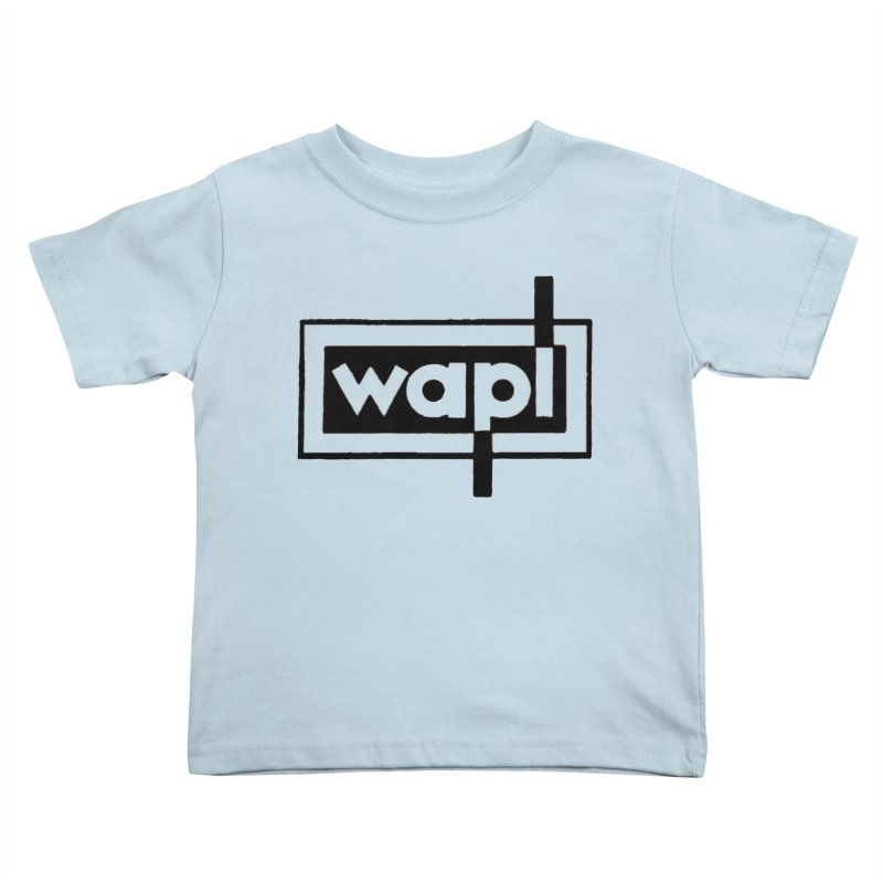 WAPL-AM circa the 50s Kids Toddler T-Shirt by 105.7 WAPL Web Store