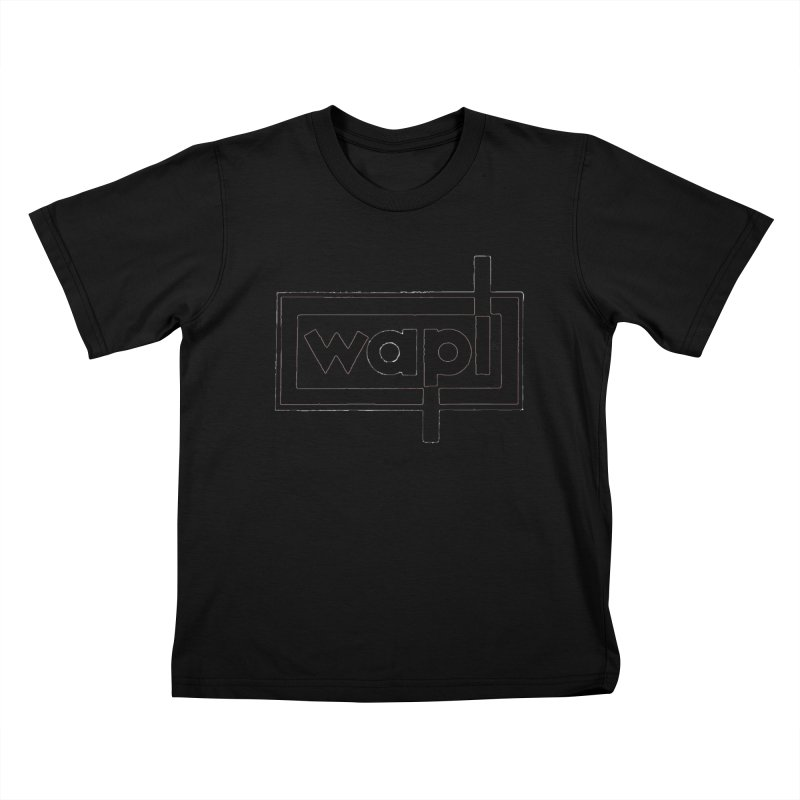 WAPL-AM circa the 50s Kids T-Shirt by 105.7 WAPL Web Store