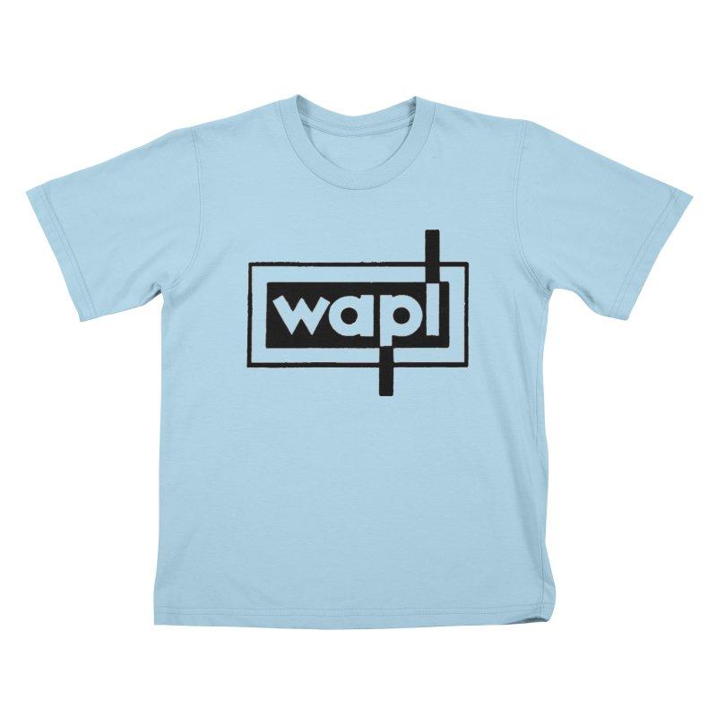 WAPL-AM circa the 50s Kids T-Shirt by 105.7 WAPL Store