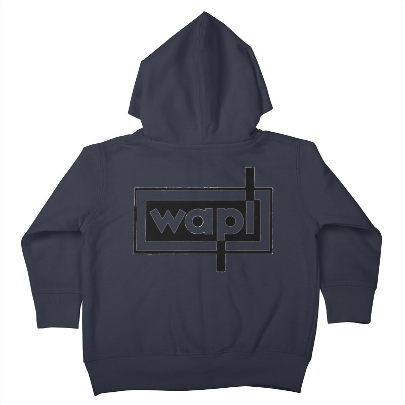 WAPL-AM circa the 50s Kids Toddler Zip-Up Hoody by 105.7 WAPL Web Store
