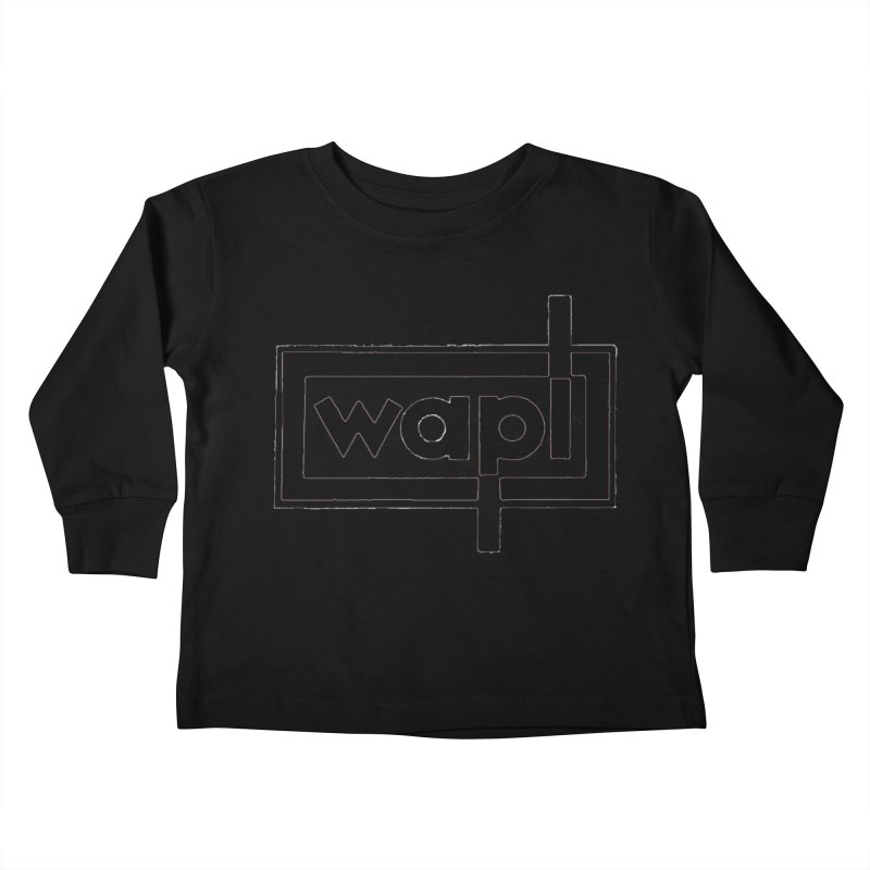 WAPL-AM circa the 50s Kids Toddler Longsleeve T-Shirt by 105.7 WAPL Store