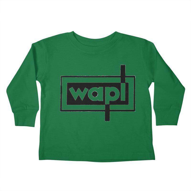 WAPL-AM circa the 50s Kids Toddler Longsleeve T-Shirt by 105.7 WAPL Web Store