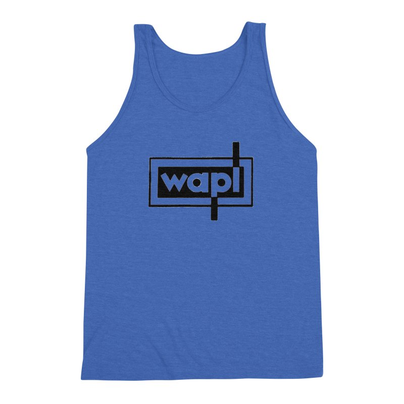 WAPL-AM circa the 50s Men's Triblend Tank by 105.7 WAPL Web Store