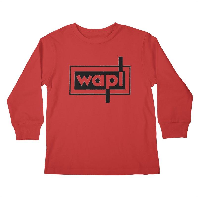 WAPL-AM circa the 50s Kids Longsleeve T-Shirt by 105.7 WAPL Web Store