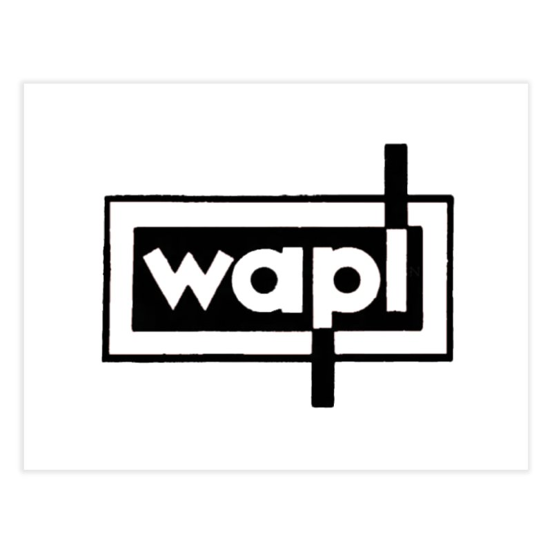 WAPL-AM circa the 50s Home Fine Art Print by 105.7 WAPL Store