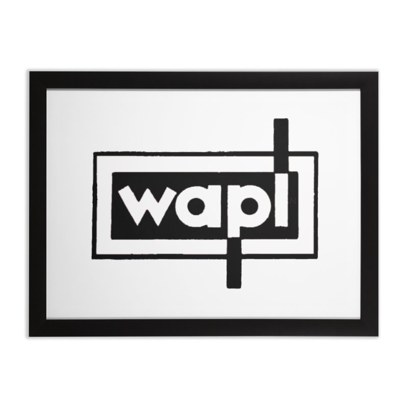WAPL-AM circa the 50s Home Framed Fine Art Print by 105.7 WAPL Store