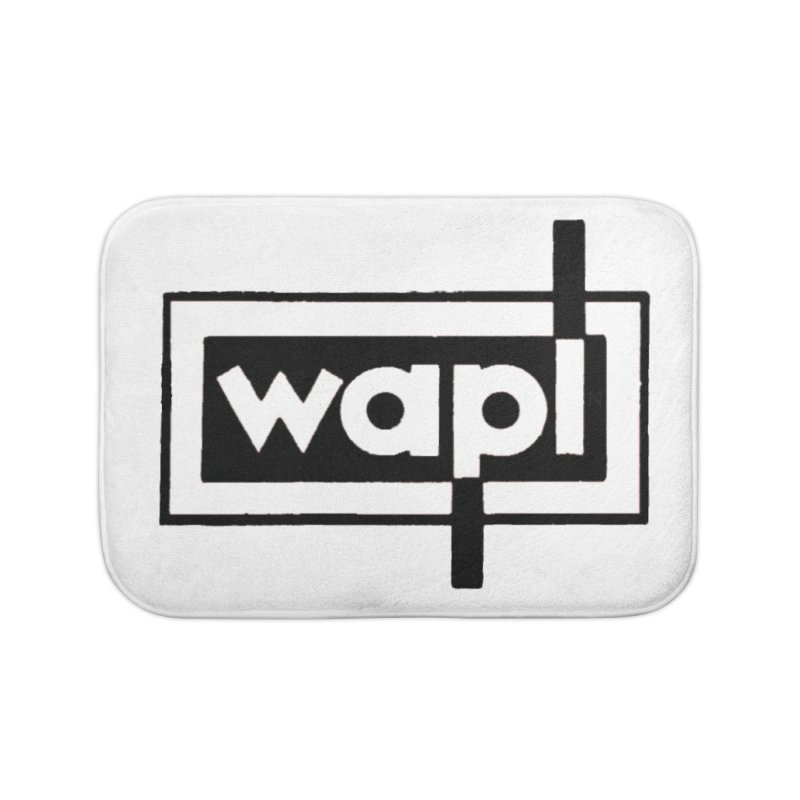 WAPL-AM circa the 50s Home Bath Mat by 105.7 WAPL Web Store