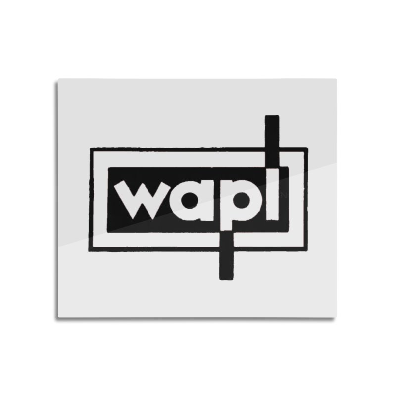 WAPL-AM circa the 50s Home Mounted Aluminum Print by 105.7 WAPL Store