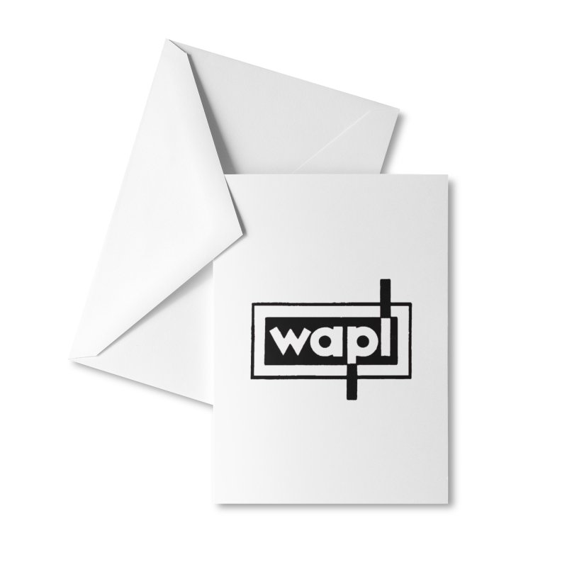 WAPL-AM circa the 50s Accessories Greeting Card by 105.7 WAPL Store