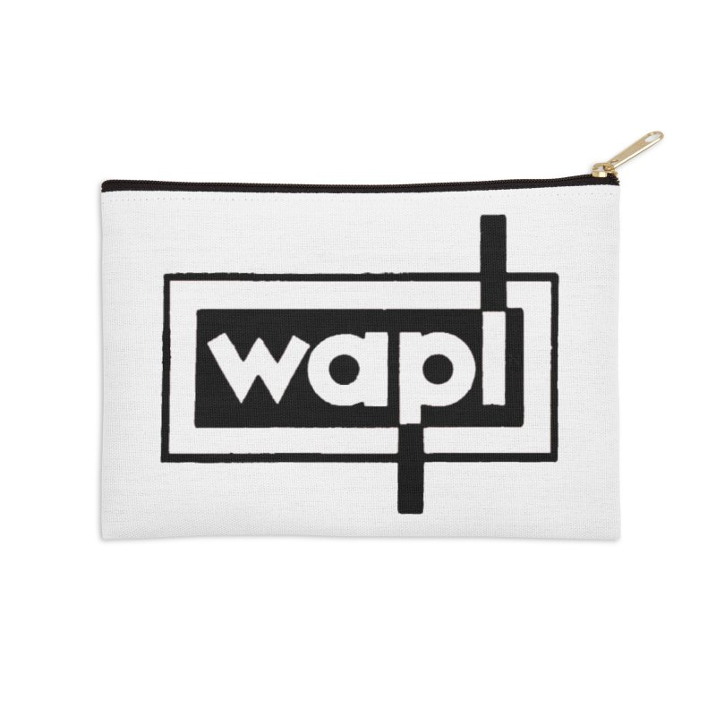 WAPL-AM circa the 50s Accessories Zip Pouch by 105.7 WAPL Web Store