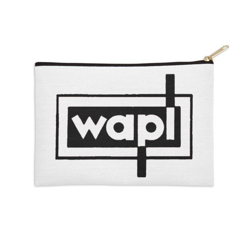 WAPL-AM circa the 50s Accessories Zip Pouch by 105.7 WAPL Store
