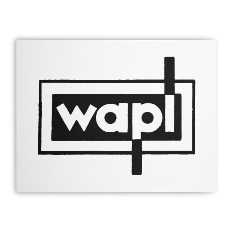WAPL-AM circa the 50s Home Stretched Canvas by 105.7 WAPL Web Store