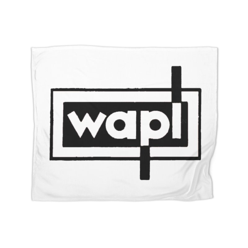 WAPL-AM circa the 50s Home Fleece Blanket Blanket by 105.7 WAPL Web Store