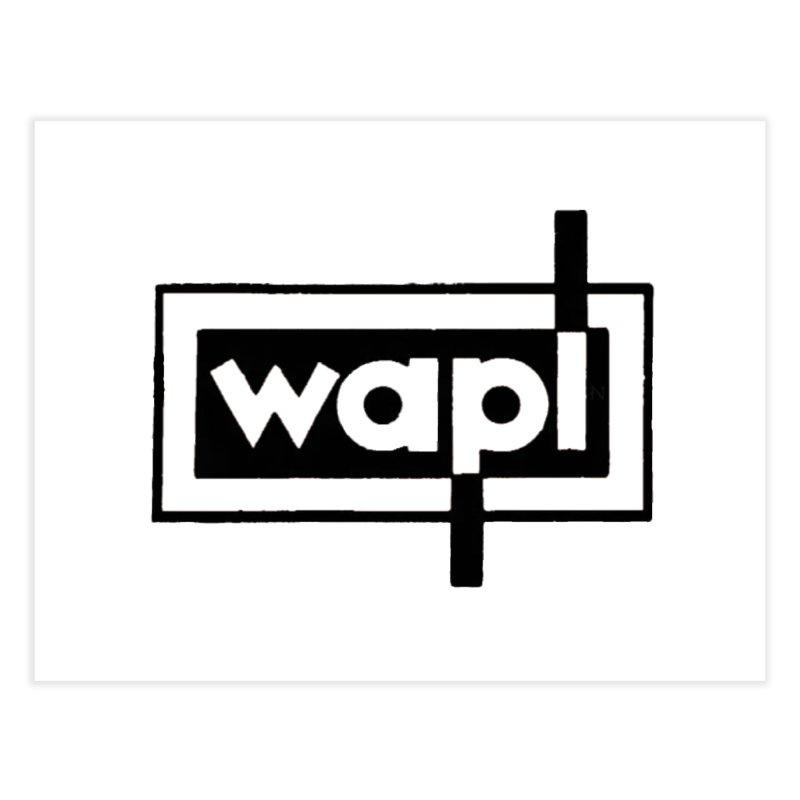 WAPL-AM circa the 50s Home Fine Art Print by 105.7 WAPL Store