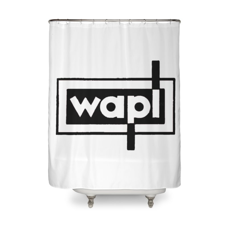 WAPL-AM circa the 50s Home Shower Curtain by 105.7 WAPL Web Store