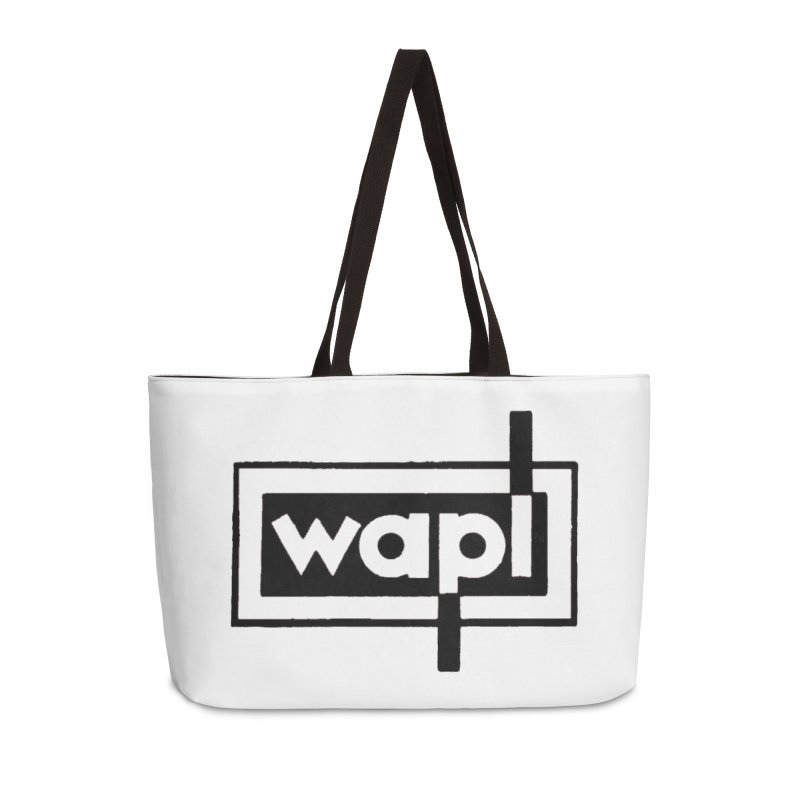 WAPL-AM circa the 50s Accessories Weekender Bag Bag by 105.7 WAPL Web Store