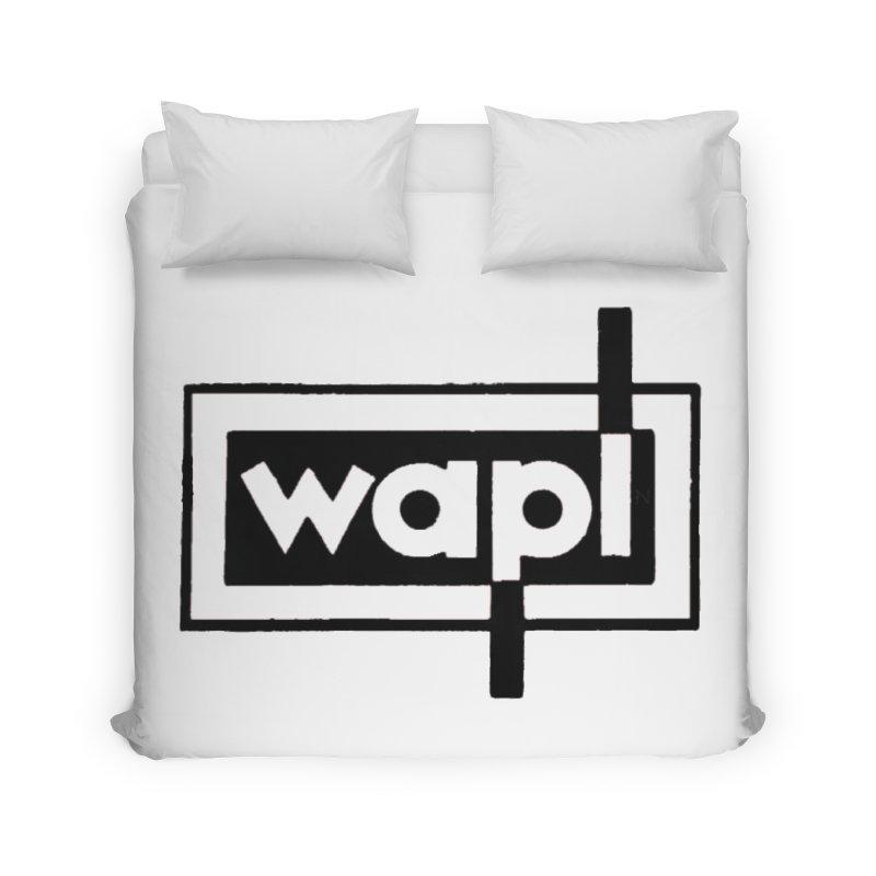 WAPL-AM circa the 50s Home Duvet by 105.7 WAPL Web Store