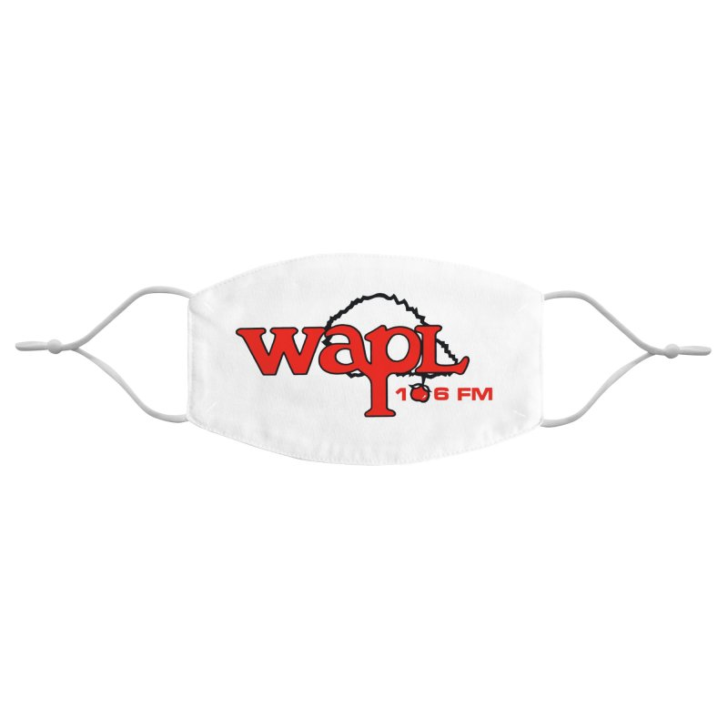WAPL 80s 'Apple Tree' - Version 2 Accessories Face Mask by 105.7 WAPL Store
