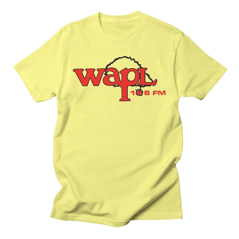 WAPL 80s 'Apple Tree' - Version 2 Men's T-Shirt by 105.7 WAPL Store