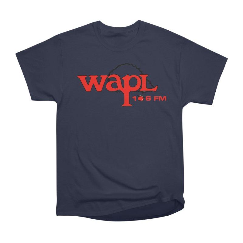 WAPL 80s 'Apple Tree' - Version 2 Women's Heavyweight Unisex T-Shirt by 105.7 WAPL Web Store