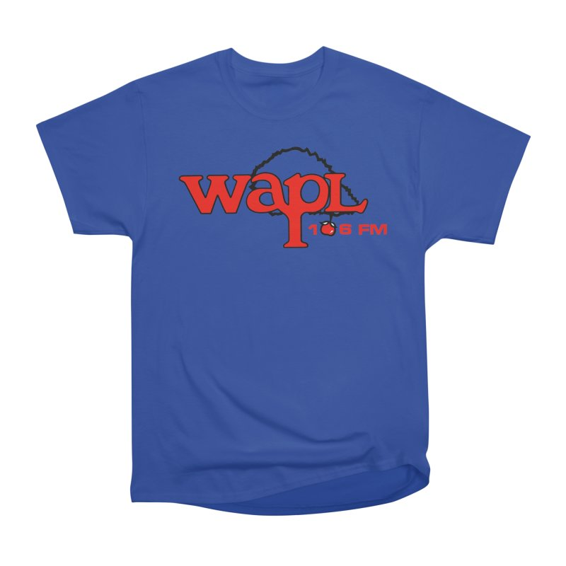 WAPL 80s 'Apple Tree' - Version 2 Men's Heavyweight T-Shirt by 105.7 WAPL Web Store